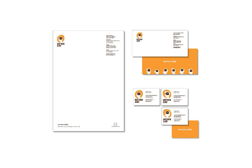 Matthew Algie brand identity pack