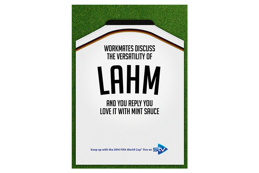 STV World Cup campaign Lahm