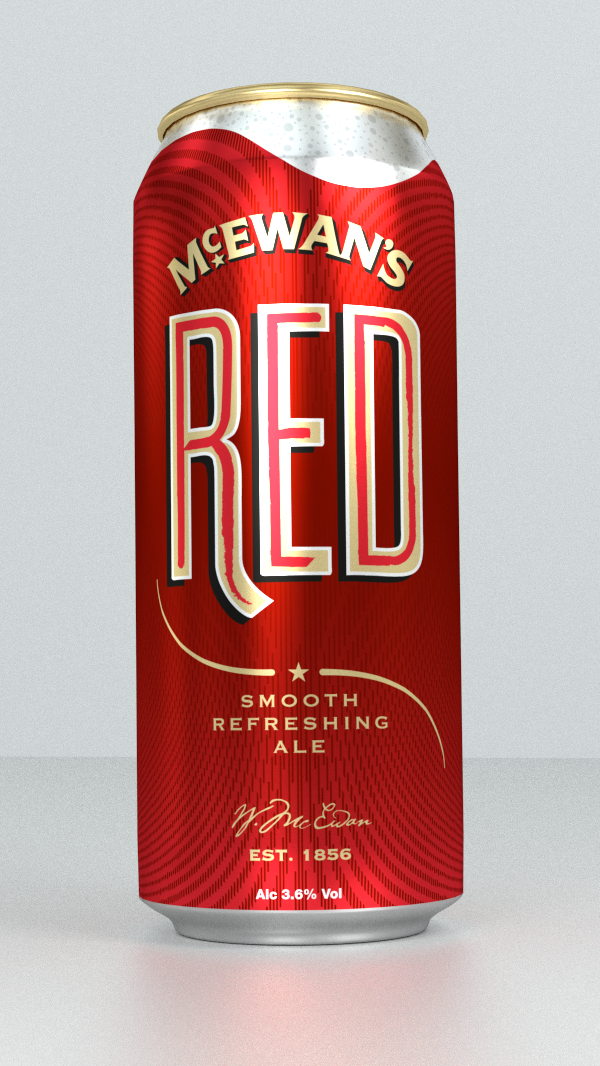 Mcewan S Red Brand Design Launch Amp Marketing The Union