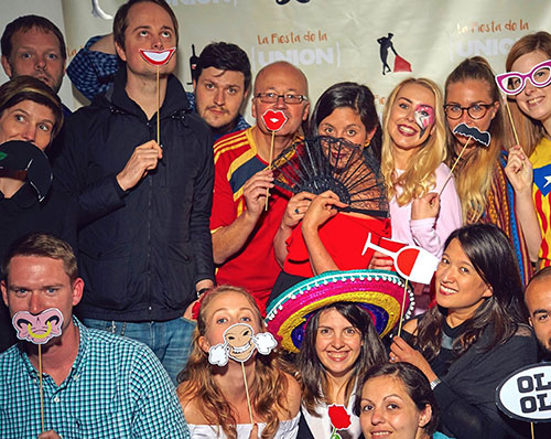 Digital people know how to have fun too. Recent Summer party antics.