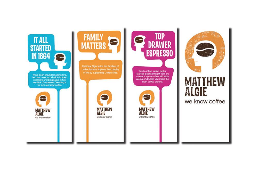 Matthew Algie printed materials
