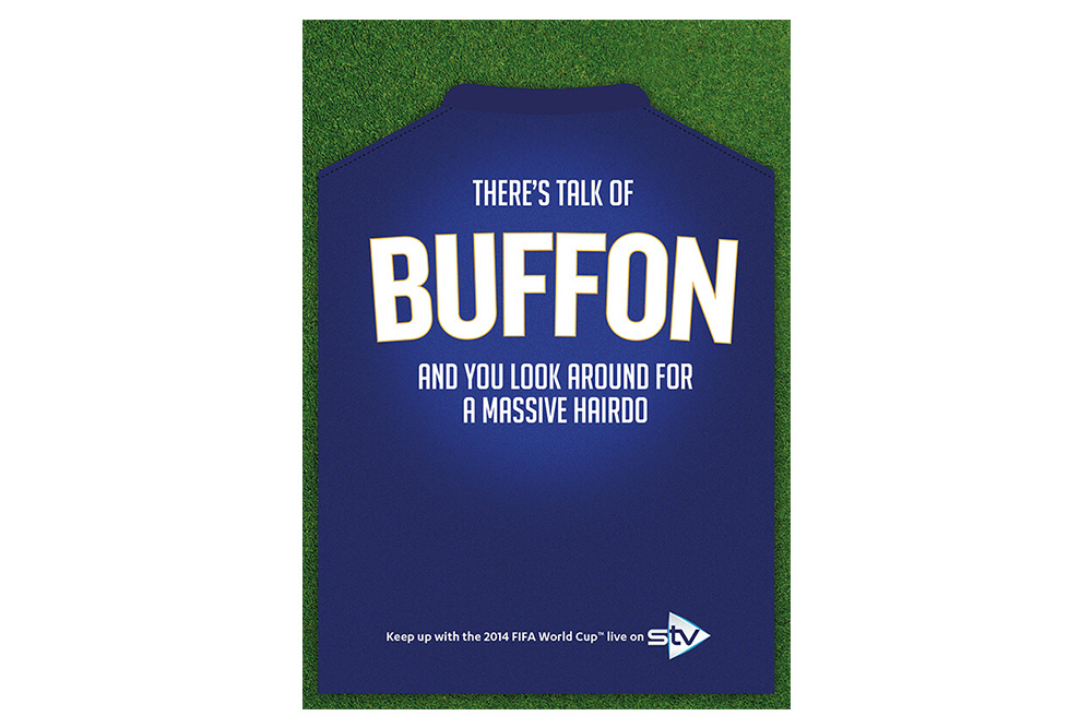 STV World Cup campaign Buffon