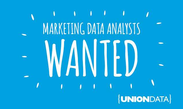 Union Data Job Ad