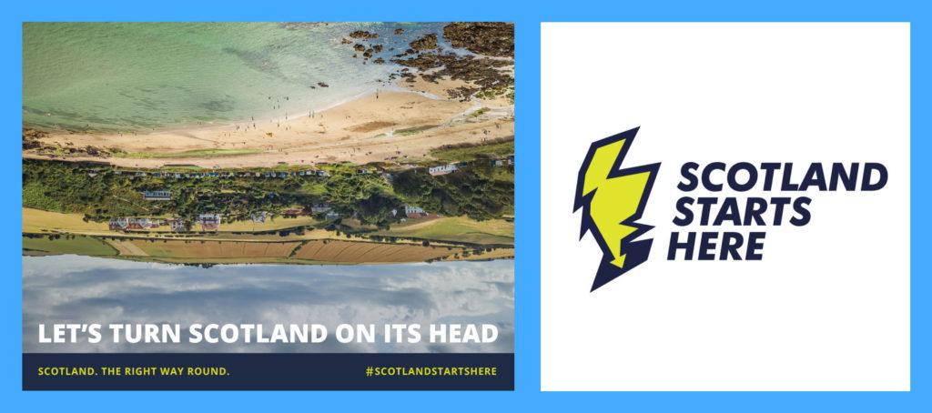 Scotland Starts Here brand
